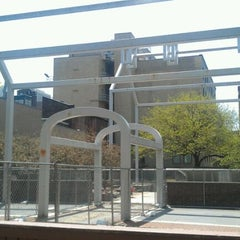 """Photo taken at Franklin Court and  """"Ghost Structures"""" by Helen M. on 4/19/2012"""