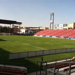 Photo taken at Toyota Stadium by Tricia S. on 7/28/2012