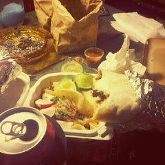 Photo taken at Americana Pizza & Taqueria by DuH on 5/13/2012
