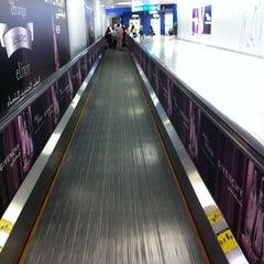 Photo taken at Terminal 1 المبنى by Abdulrahman A. on 4/14/2012
