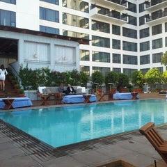 Photo taken at Mondrian Hotel by Amir M. on 5/26/2012