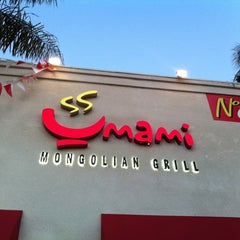 Photo taken at Umami Mongolian Grill by Steve L. on 3/23/2011