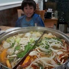 Photo taken at Hot Pot Heaven by Daniel P. on 12/30/2011