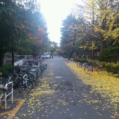 Photo taken at 京都大学 工学部3号館 by tyuupei .. on 12/4/2011