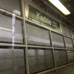 Photo taken at CTA - Kedzie by Alvin on 8/13/2012