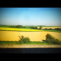 Photo taken at Gare SNCF de TGV Haute-Picardie by Ivo on 5/25/2012