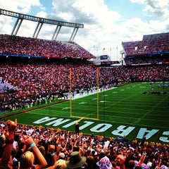 Photo taken at Williams-Brice Stadium by Monty T. on 9/8/2012