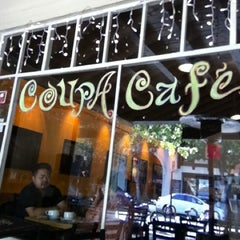 Photo taken at Coupa Café by Phil M. on 7/8/2012