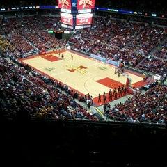 Photo taken at James H. Hilton Coliseum by Deb P. on 1/19/2012