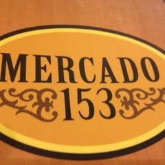 Photo taken at Mercado 153 by Mateus M. on 8/5/2012