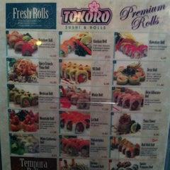 Photo taken at Tokoro Japanese Restaurant by Loyal P. on 3/28/2012