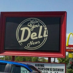 Photo taken at New York Deli News by Titus S. on 8/31/2011