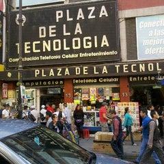 Photo taken at Plaza de la Tecnología by Ebrick M. on 1/14/2012