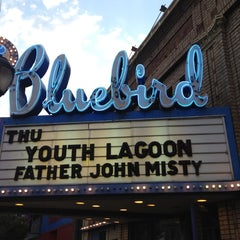 Photo taken at Bluebird Theater by Brian C. on 7/6/2012