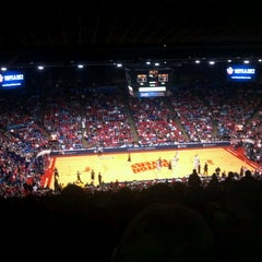 Photo taken at UD Arena by Kyle R. on 1/15/2012