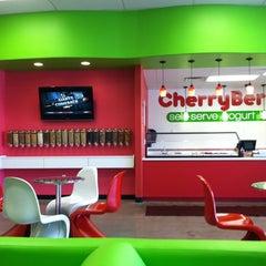 Photo taken at CherryBerry Yogurt Bar by Cassidy S. on 10/4/2011