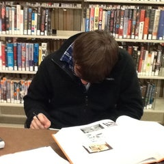 Photo taken at Greenfield Public Library by Sean M. on 11/29/2011