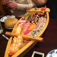 Photo taken at Sushi X: All You Can Eat Sushi by Panagis V. on 4/9/2011