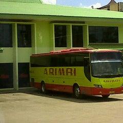 Photo taken at Pool Bus Arimbi/Bima Suci/AJA by Baim I. on 1/6/2012