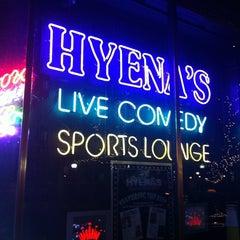 Photo taken at Hyena's Comedy Club by  ℋumorous on 1/15/2011
