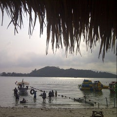 Photo taken at Pantai Mutun by Oddy S. on 8/23/2012