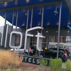 Photo taken at Aloft Milwaukee Downtown by PhiL K. on 3/31/2012