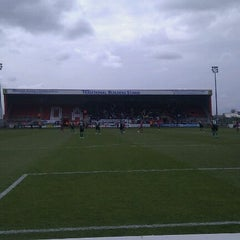 Photo taken at The London Borough of Barking & Dagenham Stadium by Sarah T. on 5/5/2012
