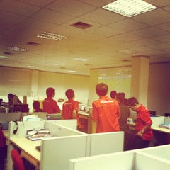 Photo taken at Smart Telecom BSD by Ditto R. on 11/17/2011