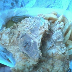 Photo taken at Big Mamas Chicken & Waffles by Tracy A. on 3/19/2012