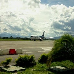 Photo taken at Aeropuerto Comandante FAP Guillermo del Castillo Paredes (TPP) by Luis M. on 5/13/2012