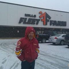 Photo taken at Mills Fleet Farm by DJ Doug M. on 11/18/2011