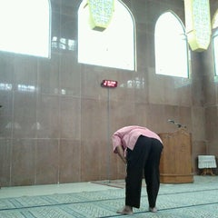 Photo taken at Masjid Baiturrahim by Mokhammad M. on 12/7/2011