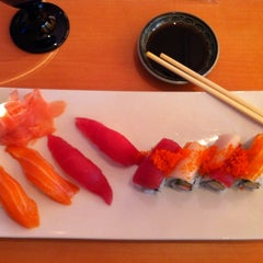 Photo taken at Blue Pacific Sushi & Grill by Mark K. on 3/14/2012
