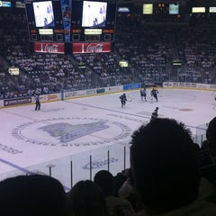 Photo taken at Germain Arena by Amanda A. on 5/18/2012