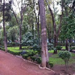 Photo taken at Parque Arboledas by Miguel Angel R. on 7/15/2011