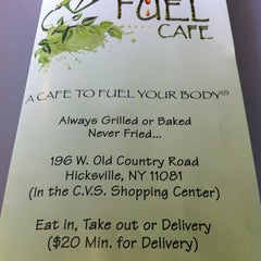 Photo taken at Fuel Your Body Cafe by G T. on 3/24/2012