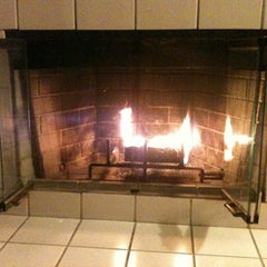 Photo taken at Relaxing By The Fire Place by Julia P. on 1/17/2012