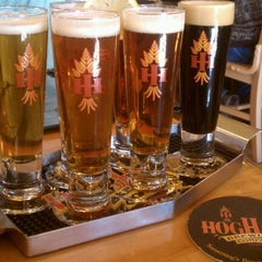 Photo taken at Hog Haus Brewing Company by Topher G. on 12/27/2011