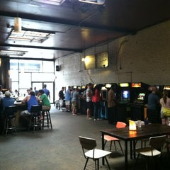 Photo taken at Barcade by Andre W. on 9/2/2012