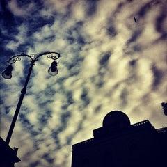 Photo taken at Quattro Canti by Fabio G. on 1/25/2012