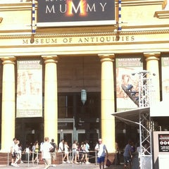 Photo taken at Revenge Of The Mummy by Brian S. on 7/22/2011