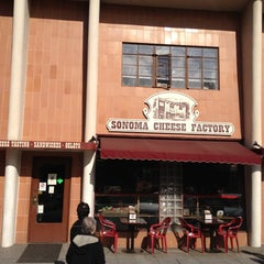Photo taken at Sonoma Cheese Factory by Taiga M. on 1/15/2012