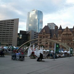 Photo taken at Nathan Phillips Square by Karenn G. on 6/24/2012