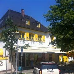 Photo taken at Gasthof zur Post Haar by Jorge T. on 7/27/2012