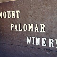 Photo taken at Mount Palomar Winery by Steve C. on 5/28/2012