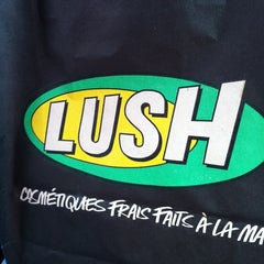 Photo taken at Lush Cosmetics by Amy M. on 2/22/2012