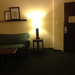 Photo taken at Springhill Suites by Christina J. on 8/7/2012