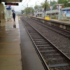 Photo taken at MetroLink - Delmar Loop Station by Paul C. on 4/14/2012