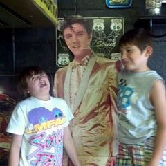 Photo taken at Fat Elvis Diner by Kelly B. on 6/21/2012