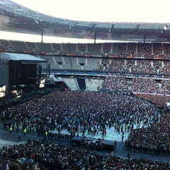 Photo taken at Stade de France by Geoffrey A. on 6/30/2012